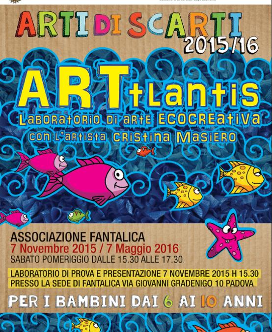 Presentazione del laboratorio ARTIDISCARTI 2015-2016