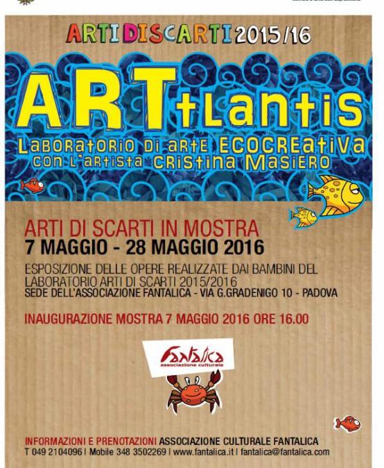 Inaugurazione della mostra ARTIDISCARTI 2015-2016