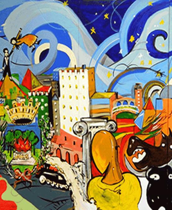 GO CITY – Inaugurazione Opera ArtiUrbane