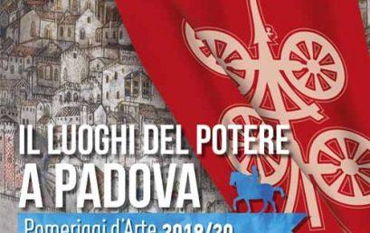 Padova – Pomeriggi d'Arte 2019-20
