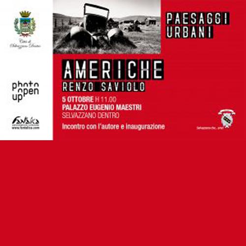 Mostra Fotografica – AMERICHE – di Renzo Saviolo
