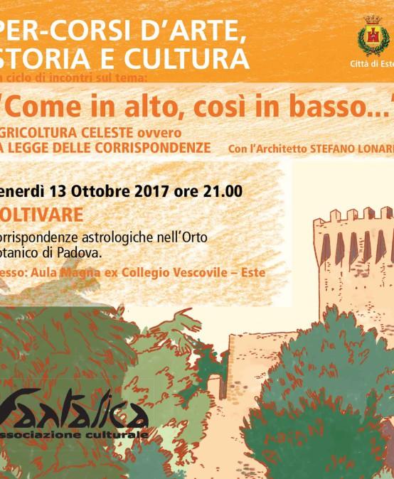 COLTIVARE – 2° incontro – Percorsi d'Arte – Storia – Cultura