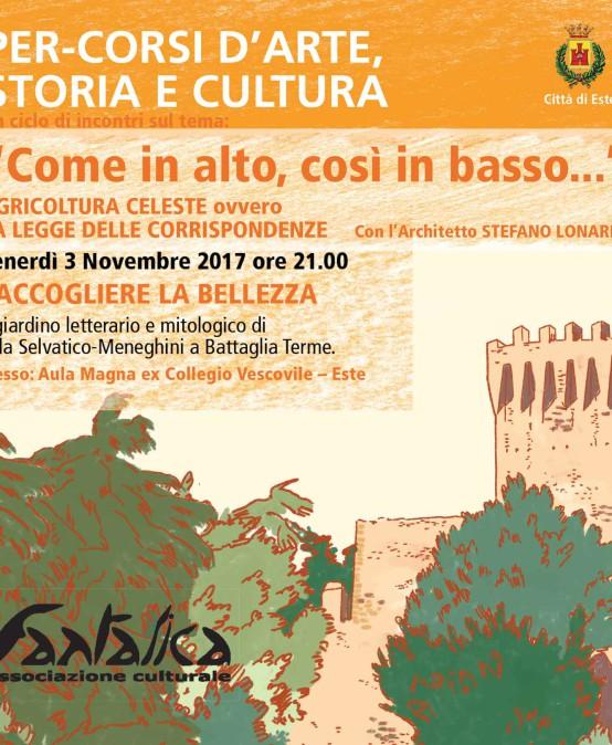RACCOGLIERE LA BELLEZZA – 3° incontro – Percorsi d'Arte – Storia – Cultura