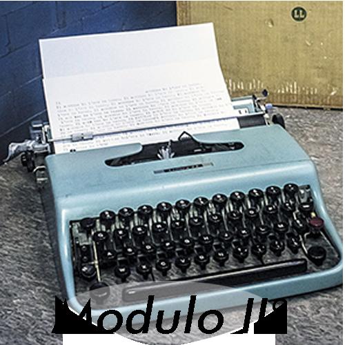 Scrittura Creativa – II° modulo – In corso d'opera