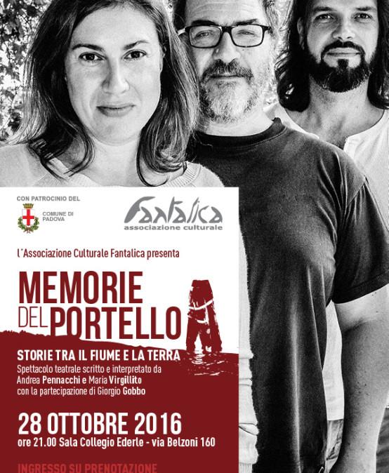 Padova – Memorie del Portello Ricordi di una vita al Portello tra il fiume e la terra – 28 ottobre