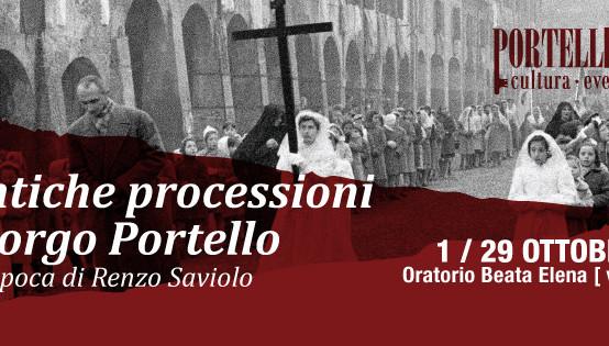 Le antiche processioni del borgo Portello. Scatti d'epoca di Renzo Saviolo