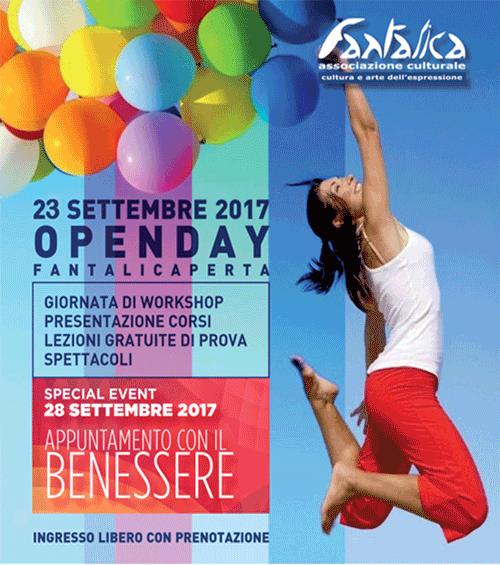 OpenDay – Fantalica Aperta 23 settembre 2017
