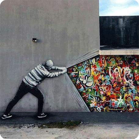 Street Photography: un viaggio attraverso di graffiti
