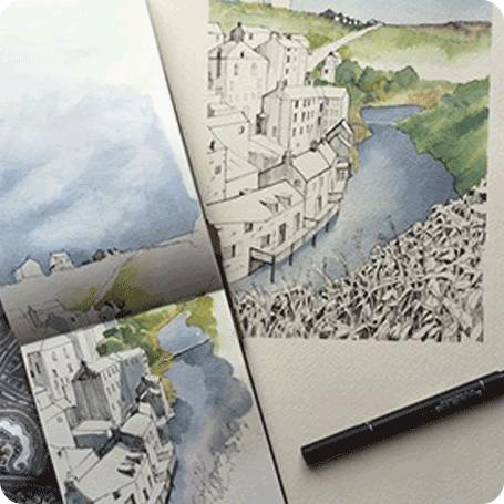 Workshop di Disegno: LO SKYLINE CITTADINO