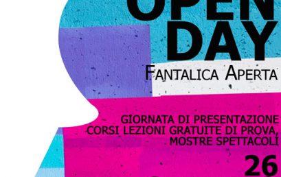 OpenDay – Fantalica Aperta – 26 Gennaio 2019
