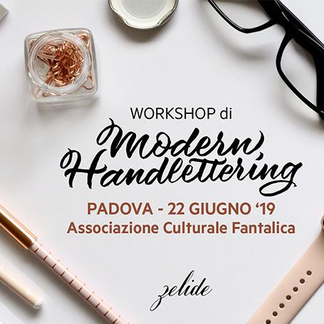 Workshop – Primo approccio alla CALLIGRAFIA