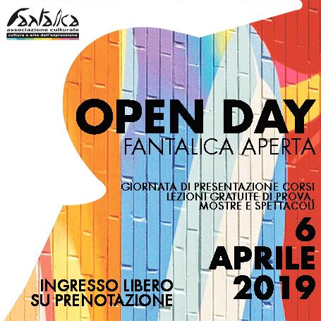 OpenDay – Fantalica Aperta 6 Aprile 2019