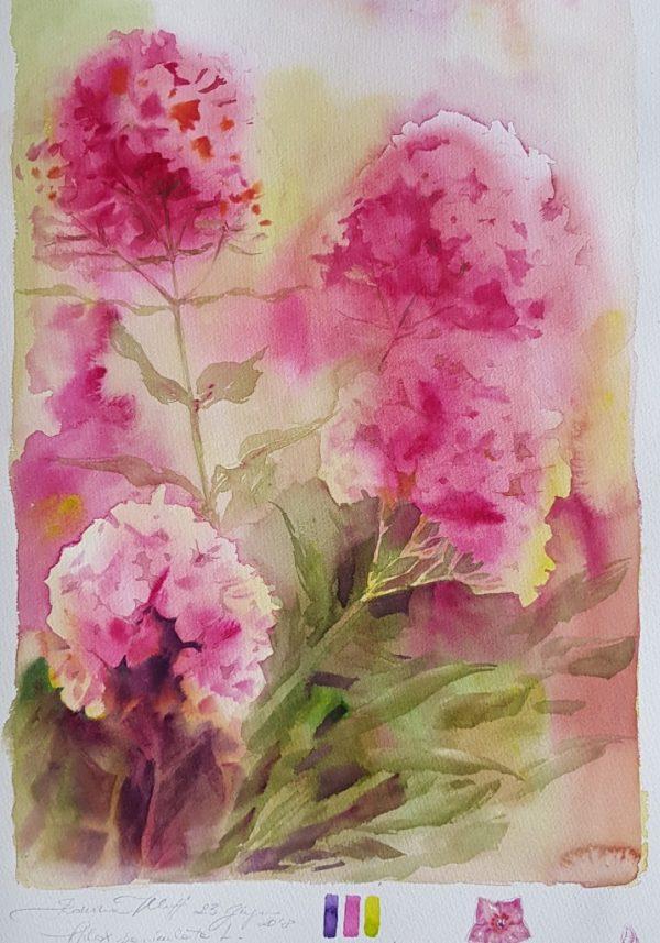 Pittura ad Acquerello: FLORA