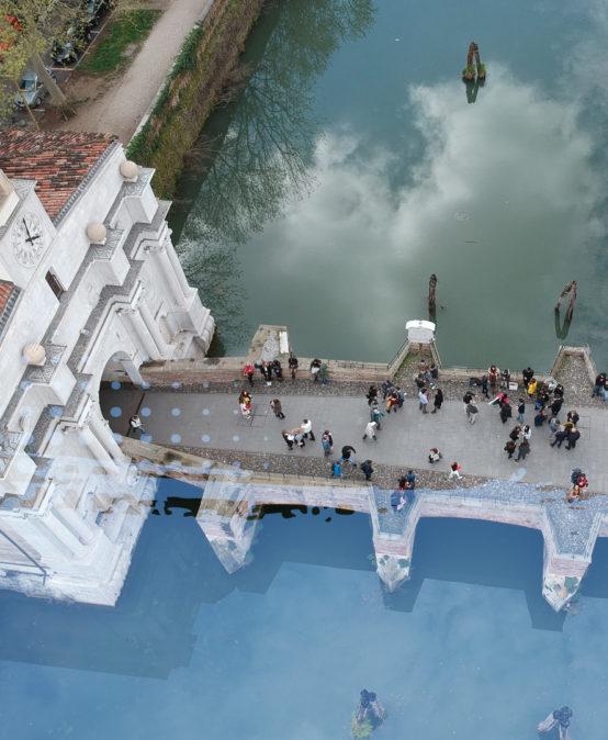Gita in battello da Porta Ognissanti al bastione dell'Arena- Visita Guidata